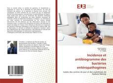 Capa do livro de Incidence et antibiogramme des bactéries entéropathogènes