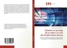 Portada del libro de Création et partage de la valeur au sein des Projets Open Source