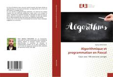 Algorithmique et programmation en Pascal的封面