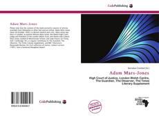 Capa do livro de Adam Mars-Jones