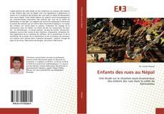 Bookcover of Enfants des rues au Népal