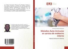 Capa do livro de Maladies Auto-immunes en service de médecine interne