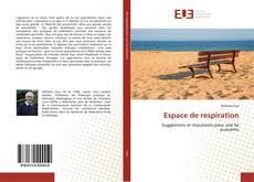 Bookcover of Espace de respiration