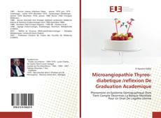 Microangiopathie Thyreo-diabetique /reflexion De Graduation Academique的封面