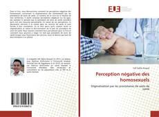 Bookcover of Perception négative des homosexuels
