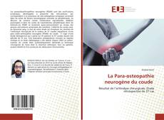 La Para-osteopathie neurogène du coude kitap kapağı