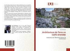 Bookcover of Architecture de Terre en COTE D'IVOIRE