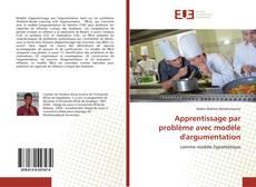 Couverture de Apprentissage par problème avec modèle d'argumentation