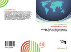 Bookcover of Amudat District