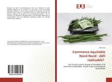 Bookcover of Commerce équitable Nord-Nord : défi réalisable?