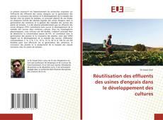 Buchcover von Réutilisation des effluents des usines d'engrais dans le développement des cultures