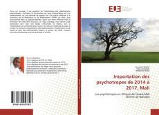 Обложка Importation des psychotropes de 2014 à 2017, Mali
