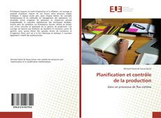 Bookcover of Planification et contrôle de la production