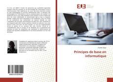 Capa do livro de Principes de base en informatique