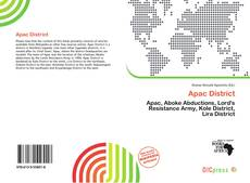 Bookcover of Apac District