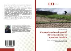 Bookcover of Conception d'un dispositif de formation sur la question foncière