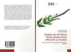 Bookcover of Analyse par GC-MS de l'huile volatile Salvia officinalis au Soudan