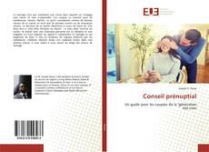 Portada del libro de Conseil prénuptial
