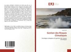 Обложка Gestion des Risques Climatiques