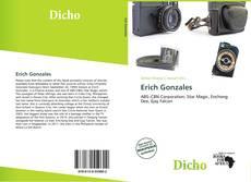 Buchcover von Erich Gonzales
