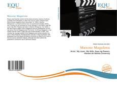 Capa do livro de Maxene Magalona