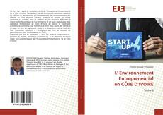 Bookcover of L' Environnement Entrepreneurial en CÔTE D'IVOIRE
