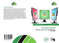Capa do livro de German Moreno