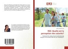 Copertina di RSE: Quelle est la perception des salariés?