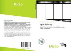 Bookcover of Igor Ilyinsky