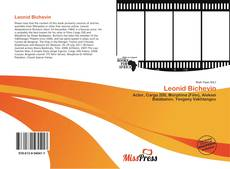 Leonid Bichevin kitap kapağı