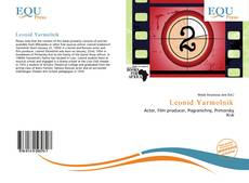 Leonid Yarmolnik kitap kapağı