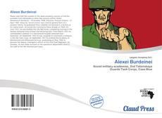 Bookcover of Alexei Burdeinei
