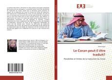 Bookcover of Le Coran peut-il être traduit?