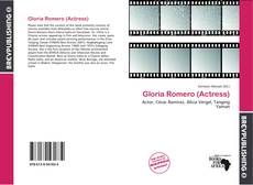 Bookcover of Gloria Romero (Actress)
