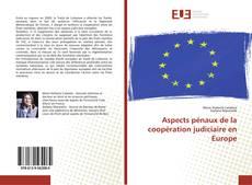 Buchcover von Aspects pénaux de la coopération judiciaire en Europe