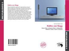 Capa do livro de Käthe von Nagy