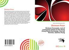 Capa do livro de Dickson Poon