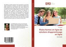 Copertina di Plates-formes en ligne de solutions d'apprentissage en ligne