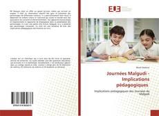 Journées Malgudi - Implications pédagogiques的封面
