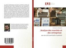 Capa do livro de Analyse des marchés et des entreprises