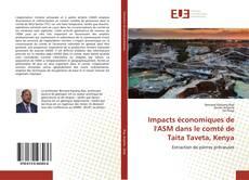 Portada del libro de Impacts économiques de l'ASM dans le comté de Taita Taveta, Kenya
