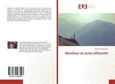 Capa do livro de Bonheur et auto-efficacité