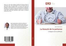 Buchcover von La beauté de la patience