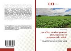 Bookcover of Les effets du changement climatique sur le rendement du niébé