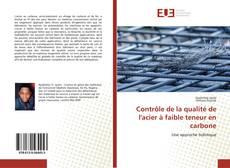 Bookcover of Contrôle de la qualité de l'acier à faible teneur en carbone