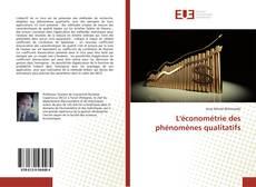 Copertina di L'économétrie des phénomènes qualitatifs