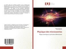 Couverture de Physique des microcosmes