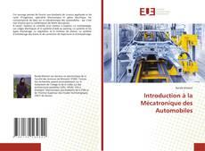 Обложка Introduction à la Mécatronique des Automobiles