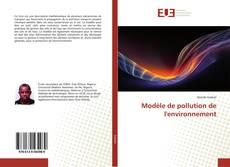Обложка Modèle de pollution de l'environnement
