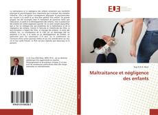 Bookcover of Maltraitance et négligence des enfants